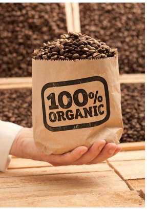 hundred percent organic pure coffee beans best shop
